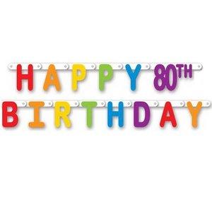Letterslinger Happy 80 Birthday