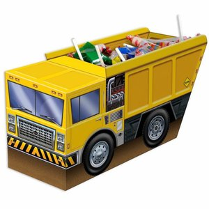 Tafeldecoratie bouw vrachtauto 3D