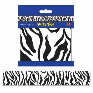 Party tape zebra
