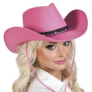 Cowboyhoed Texas roze