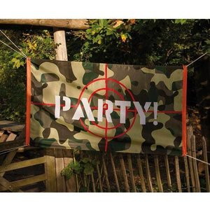 Gevelvlag Camouflage Party