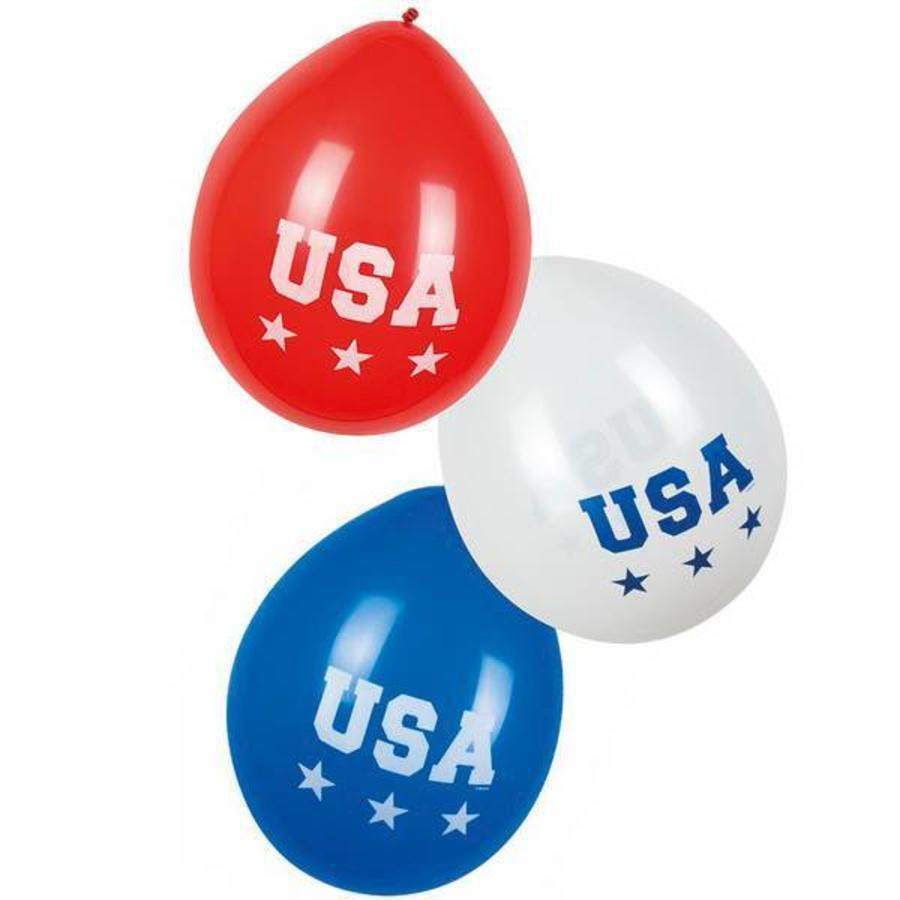 Ballonnen USA 6 stuks