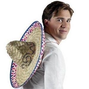 Sombrero met versiering luxe