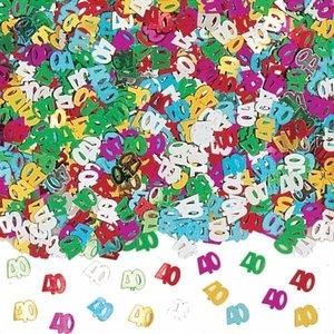Confetti glitter 40 jaar luxe