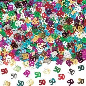 Confetti glitter 50 jaar