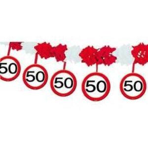 Slinger papier verkeersbord 50 jaar
