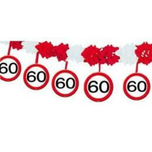 Slinger papier verkeersbord 60 jaar