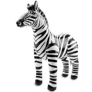 Opblaasbare zebra