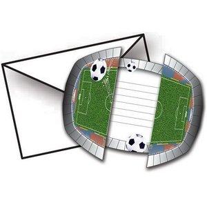 Uitnodigingskaartjes voetbalstadion