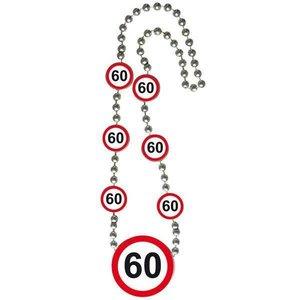Ketting 60 jaar verkeersbord