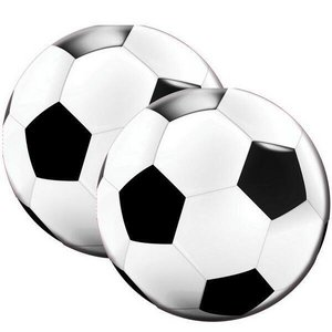 Servetten voetbal rond