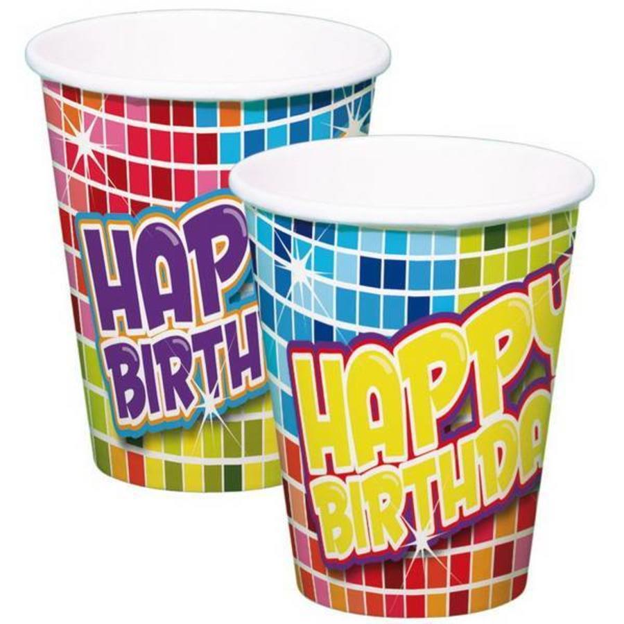 Bekertjes Happy Birthday Blocks