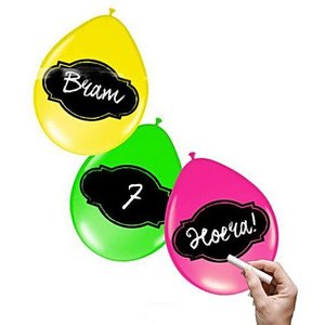Ballonnen beschrijfbaar NEON