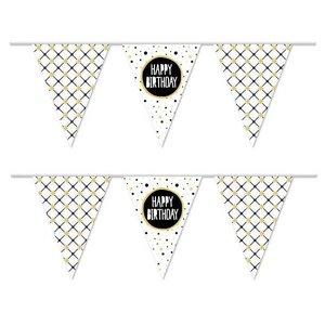 Vlaggenlijn Happy Birthday stijlvol