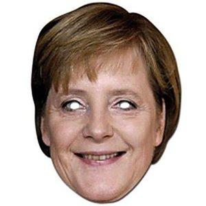Masker Angela Merkel