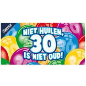 Tissue box 30 jaar
