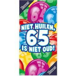 Tissue box 65 jaar