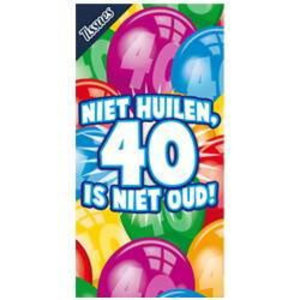 Tissue box 40 jaar