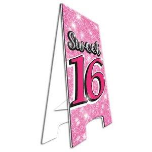 Pas op bord Sweet 16