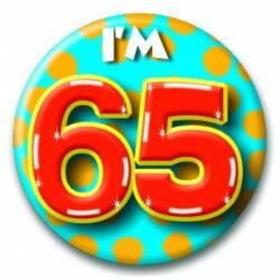 Button 65 jaar