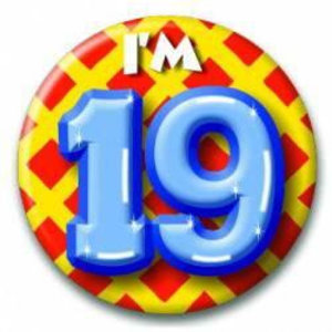 Button 19 jaar