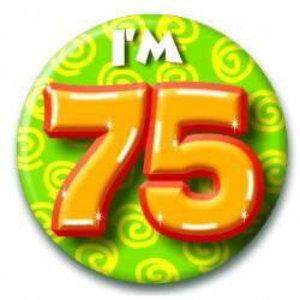 Button 75 jaar