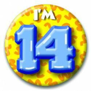 Button 14 jaar