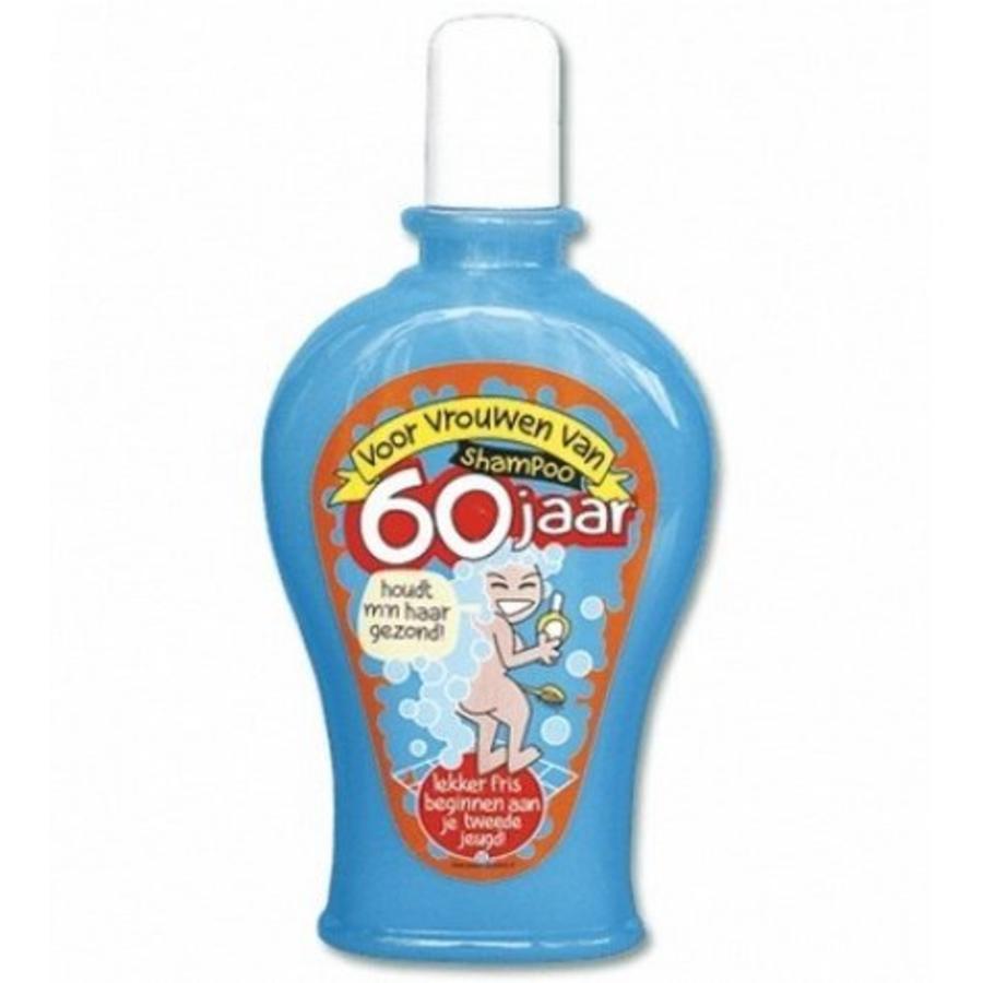 Verrassend Shampoo 60 jaar vrouw - Alle grappige 60 jaar cadeau's voor WD-26