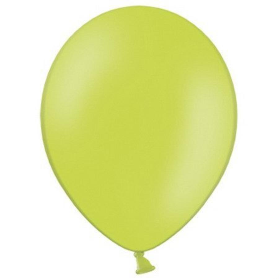 Ballonnen appelgroen 10 stuks
