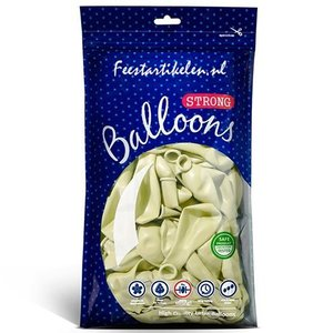 Ballonnen crème 100 stuks