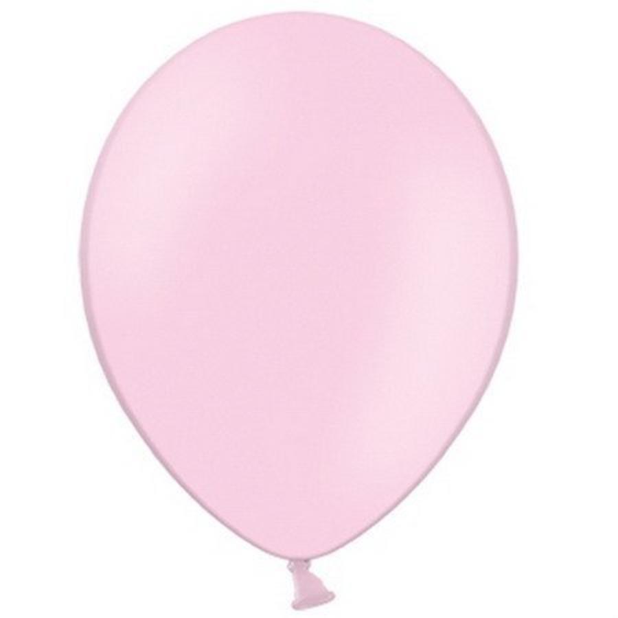 Ballonnen lichtroze 10 stuks