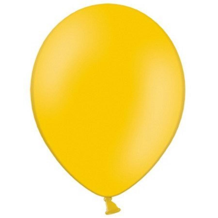 Ballonnen lichtoranje 10 stuks