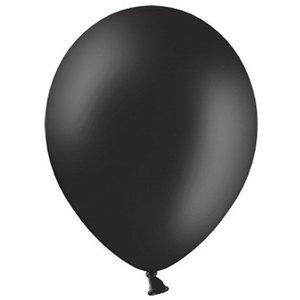 Ballonnen zwart 10 stuks