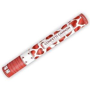 Confetti Cannon luxe met rode rozenblaadjes