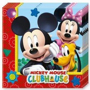 Servetten Mickey Mouse 20 stuks