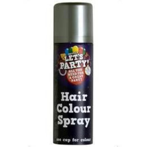Hairspray zilverkleurig