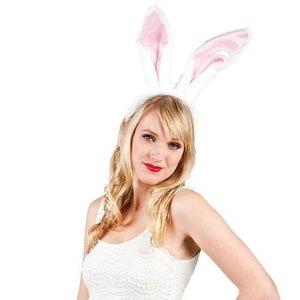 Oren konijn roze-wit
