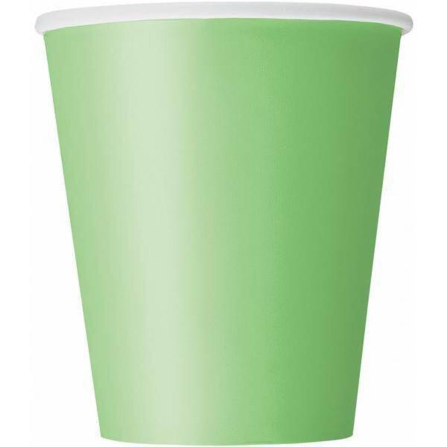 Bekertjes groen 8 stuks
