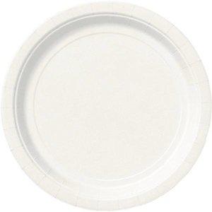 Bordjes wit 8 stuks