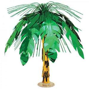 Tafeldecoratie tropische folie palmboom luxe