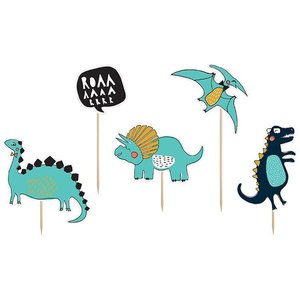 Prikkers Dinosaurus luxe 5 stuks