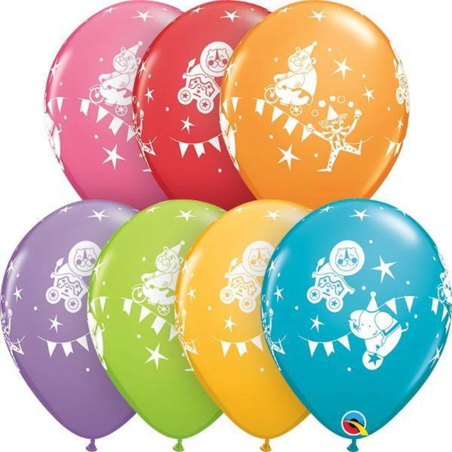 Ballonnen Circus extra sterk 6 stuks