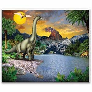 Wandposter Dinosaurus
