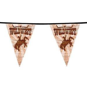 Vlaggenlijn Wild West