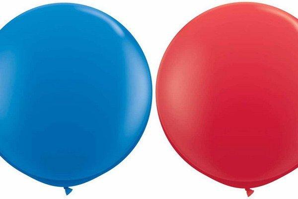Jumbo ballonnen van bijna een meter doorsnee
