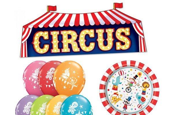 Circus versiering
