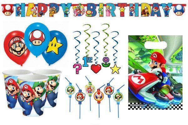 Super Mario versiering