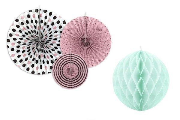 Honeycomb decoraties
