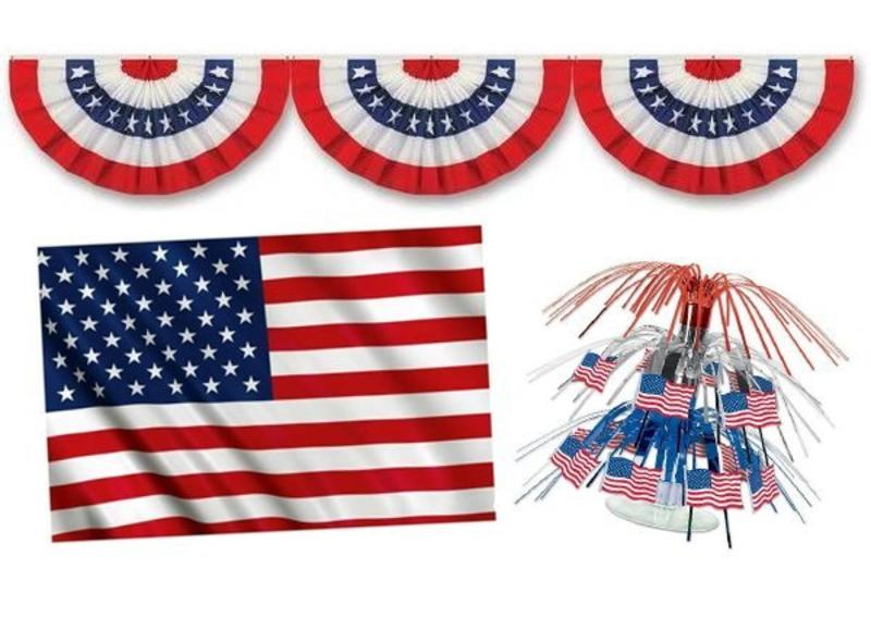 USA themafeest versiering
