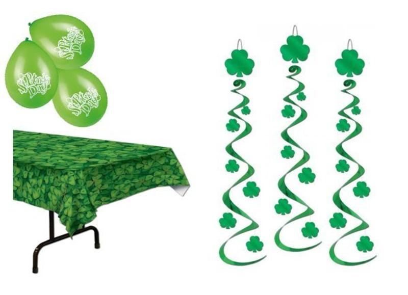 St Patricks Day versiering